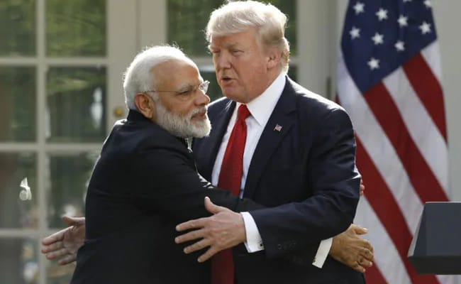 """Who Will Speak First? PM Modi, Trump To Share Stage At """"Howdy, Modi"""""""