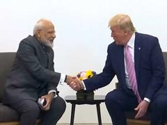 """Historic, Unprecedented"": Indian Envoy On Trump-PM Meet At 'Howdy, Modi'"