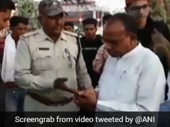 In Video, Congress Lawmaker Argues With Cop Over Fine On Biker