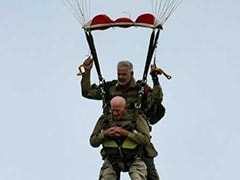 World War II Veterans Recreate 1944 Parachute Jump On D-Day Anniversary