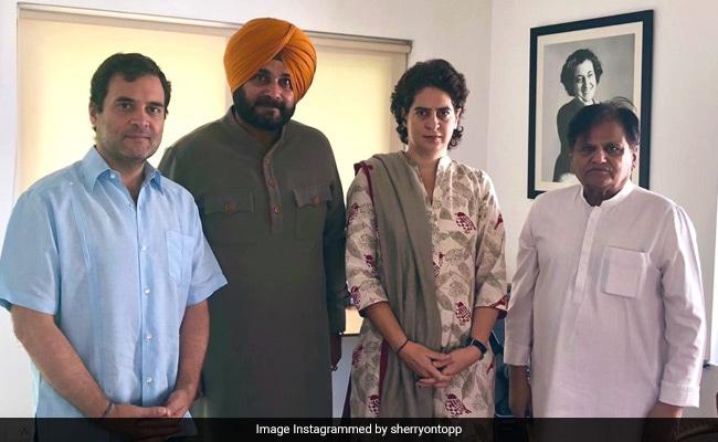 पंजाब के सीएम कैप्टन अमरिंदर से तनाव के बीच राहुल-प्रियंका से मिले नवजोत सिंह सिद्धू, बताई पूरी बात