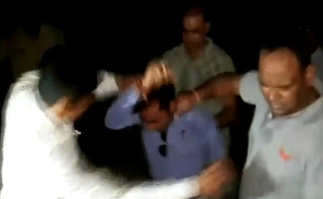 """Urinated In My Mouth"": UP Journalist Thrashed By Railway Cops On Video"