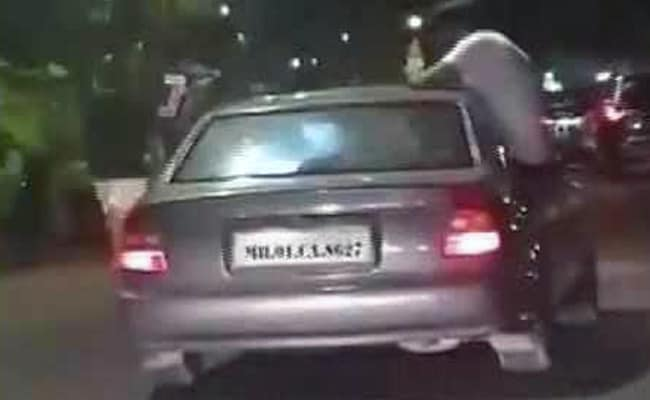 3 Arrested For Performing Stunts In Moving Car In Mumbai, Video Viral