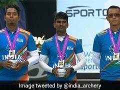 বিশ্ব তিরন্দাজি প্রতিযোগিতায় ভারতকে রুপো দিল পুরুষদের রিকার্ভ দল