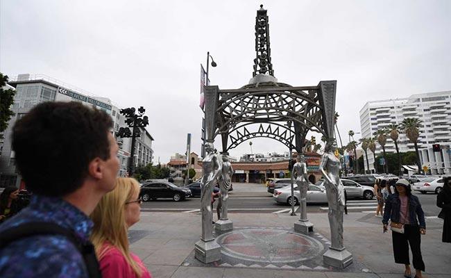Man Who Vandalised Trump 'Hollywood star' Stole Marilyn Monroe Statue