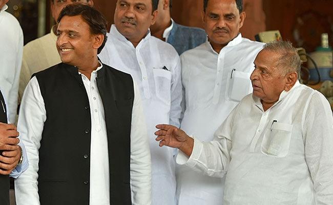 'Akhilesh Yadav Betrayed Father Mulayam For Power,' Says BJP