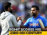 Rohit Sharma Century Guides India To Opening World Cup 2019 Win