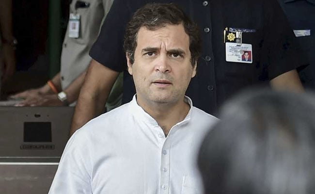 'Not 1% Chance' Of Rahul Gandhi Staying On, Says Congress's Veerappa Moily
