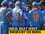 Video : India Crush West Indies To Continue Unbeaten Run