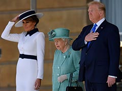 """Great, Great Woman"": Trump Praises Queen Elizabeth During UK Visit"