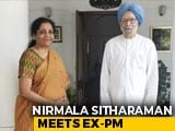 Video : Nirmala Sitharaman Meets Manmohan Singh Days Before Her First Budget
