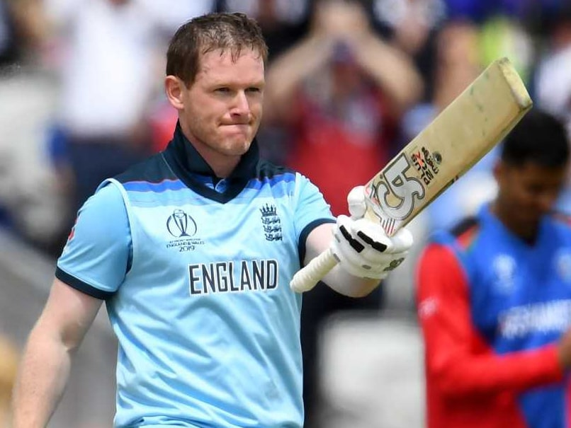World Cup: Eoin Morgan Sets New Sixes Record As England Thrash Afghanistan