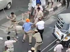 """Provoked By Driver"": Delhi Police's Report After Viral Video Of Fight"