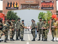 BSF Soldiers, Pakistan Rangers Exchange Sweets On Eid