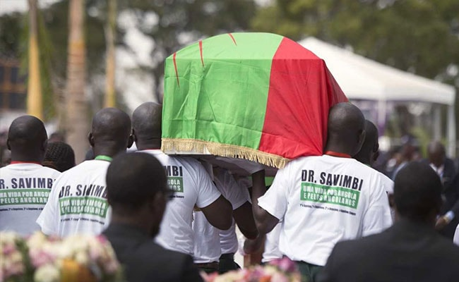 Angola Ex-Rebel Leader Reburied 17 Years After Death