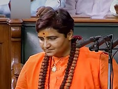 "Pragya Thakur Goes To Police Over Congress MLA's Threat To ""Burn"" Her"