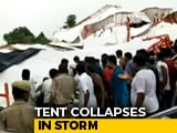 Video : 14 Dead, Dozens Injured As Tent Collapses At Religious Event In Rajasthan