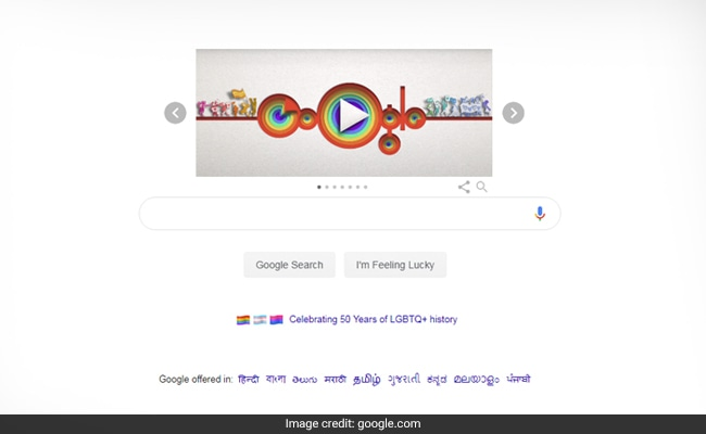 Google Artist's Doodle Celebrates Pride History And A Personal Journey