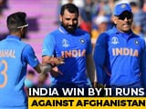 Video : Mohammed Shami Claims Last-Over Hat-Trick As India Beat Afghanistan