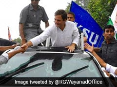 "Rahul Gandhi Greeted With ""Need You"" Posters On Post-Poll Wayanad Trip"