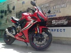 A Honda CBR650R Gets An Austin Racing Exhaust In India For The First Time