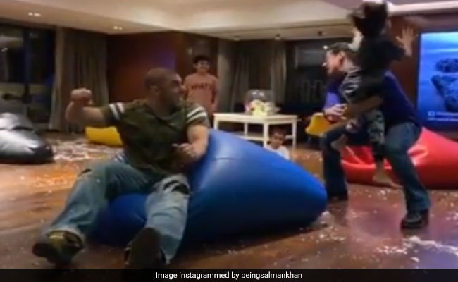 Salman Khan's LOL Birthday Video For Nephew Yohan Wins The Internet