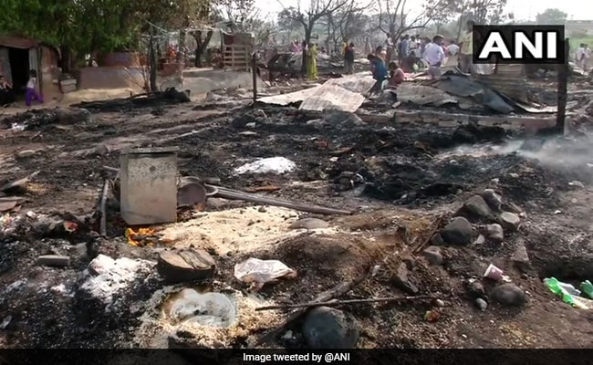 Massive Fire Razes 150 Shanties Of Labourers, Rohingya In Jammu