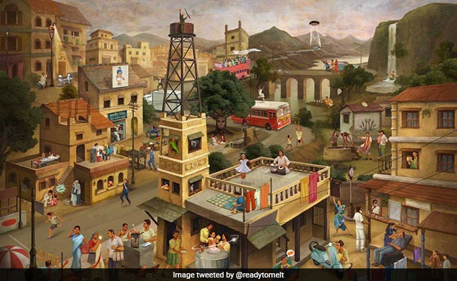 Viral: Can You Spot All 40 Iconic Indian Ads Hidden In This Painting?