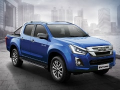 2019 Isuzu D-Max V-Cross Facelift Launched In India; Prices Start At Rs. 15.51 Lakh