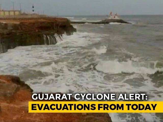 Video : Cyclone Vayu To Hit Gujarat Tomorrow, Schools, Colleges Closed