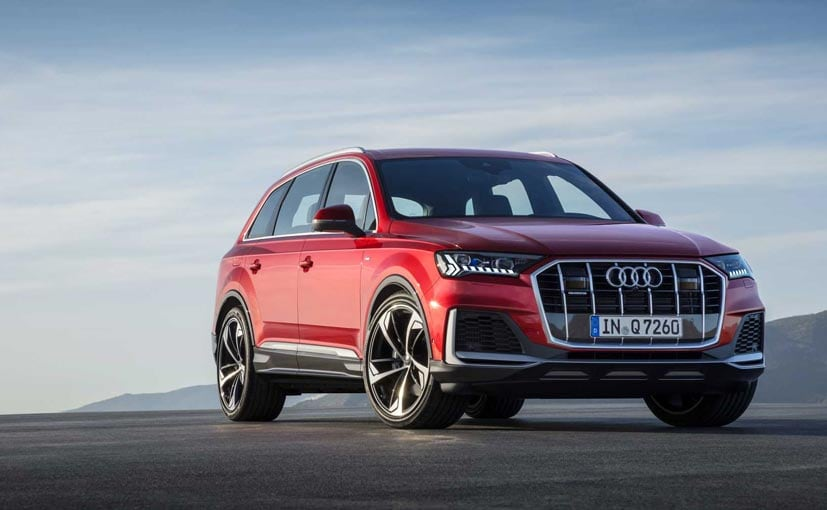 Audi Q7 Facelift Breaks Cover