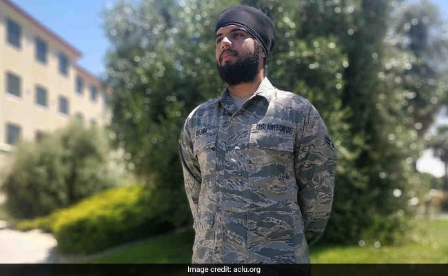 Sikh Airman Allowed To Wear Turban On US Duty Praised By Indian-Americans