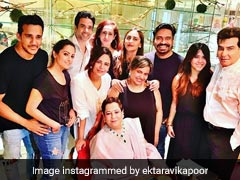 Inside Ekta Kapoor's Birthday Dinner With Family And Friends Krystle D'Souza, Anita Hassanandani