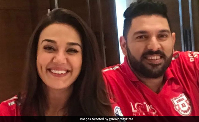 Yuvraj Singh's IPL Team Owner Preity Zinta Thanks Him For 'Those Six Sixes'
