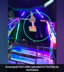 Woman Falls Off Theme Park Ride, Gets Hit By It In Shocking Viral Clip