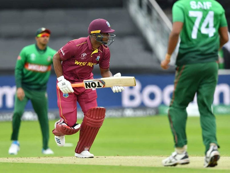 West Indies vs Bangladesh Live Score, World Cup 2019: Evin Lewis, Shai Hope Watchful For West Indies After Early Blow