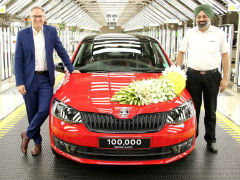 Skoda Rapid Hits 1 Lakh Production Milestone In India