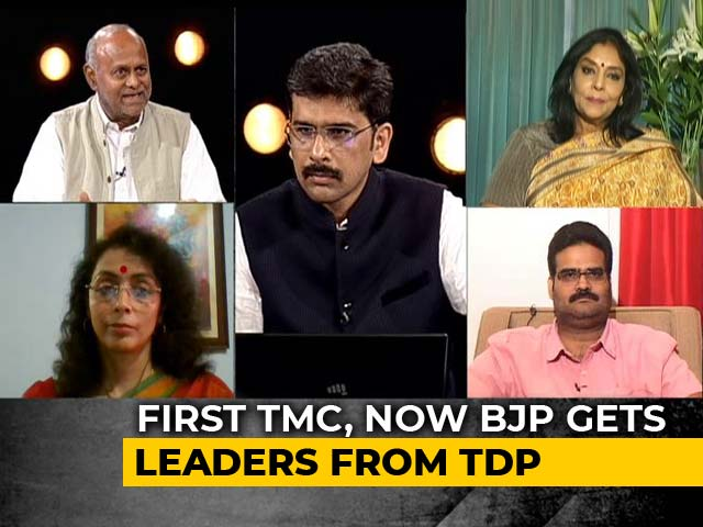 Video : Boost For BJP In Rajya Sabha, 4 TDP Lawmakers Switch Party