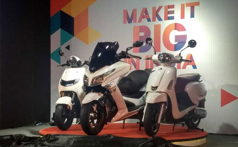 22 Kymco Enters India With 3 Model Launches