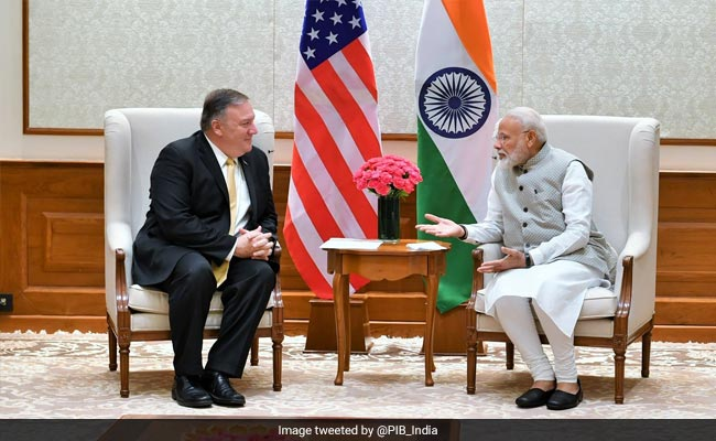 India A Great Democracy, Says Mike Pompeo In Independence Day Message