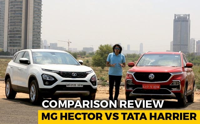 MG Hector Takes On Direct Rival Tata Harrier