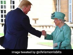 Did Donald Trump Actually Greet The Queen With A Fist Bump? Watch
