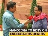"Video : ""PM Tweets For Hurt Cricketer, But Not Bihar Children"", Says RJD Leader"
