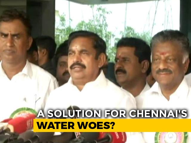 Video : Amid Chennai Water Crisis, Work Begins On Desalination Plant 6 Years Late