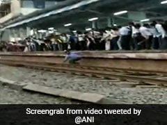 On Camera, Man Gets Stuck Between Platform And Train In Maharashtra