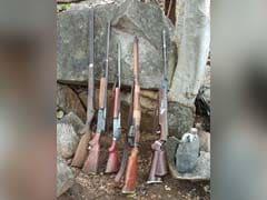 छत्तीसगढ़: ITBP ने राजनंदगांव में ध्वस्त किया नक्सली कैंप, भारी मात्रा में हथियार बरामद