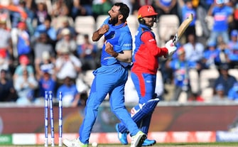 Mohammed Shami Hat-Trick Seals India's Nervy Win Over Afghanistan