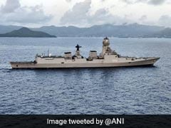 INS Kochi Enters Seychelles' Port Victoria For Operational Turnaround