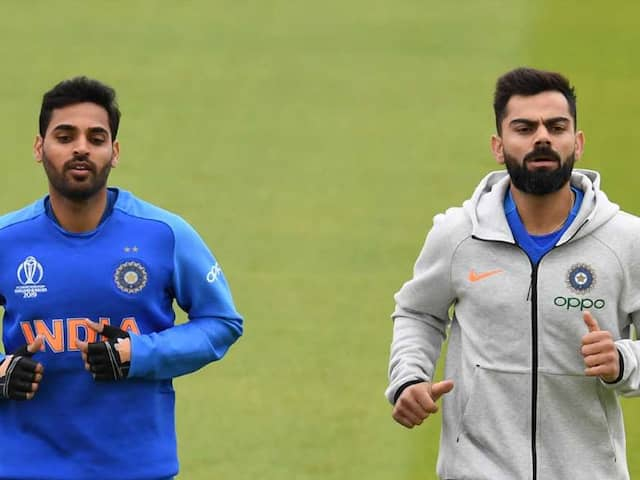 World Cup 2019: Bhuvneshwar Kumar Hits Nets Ahead Of Indias World Cup Tie Against The West Indies