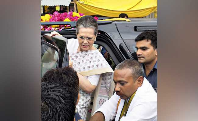 'Limits Of Dignity Crossed': Sonia Gandhi On BJP At First Post-Poll Rally